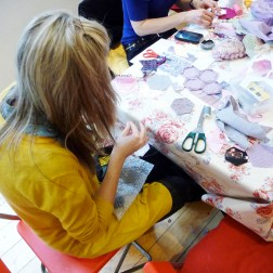 Slow Textiles Group Patchwork event (designed, devised and delivered by Emma Neuberg)