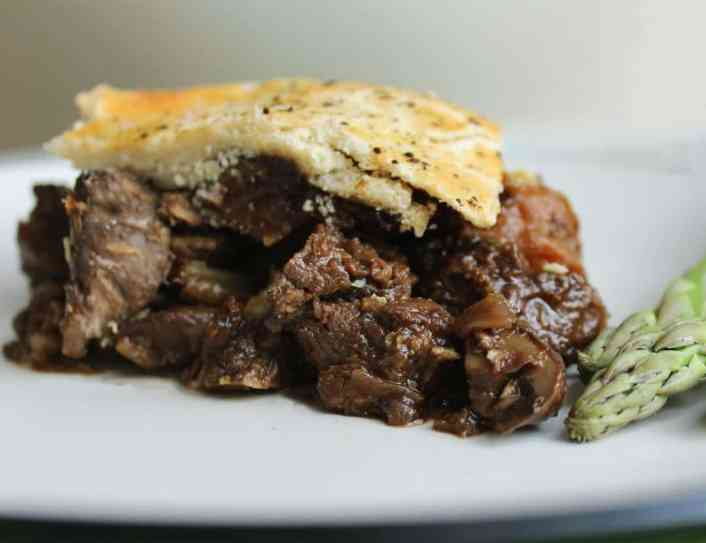 Deep Filled Venison and CherryPie