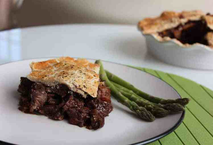 Deep Filled Venison and Cherry Pie
