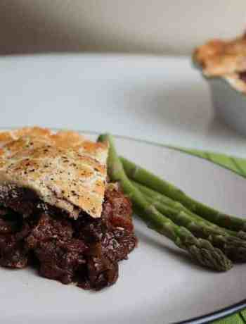 Deep Filled Venison Pie