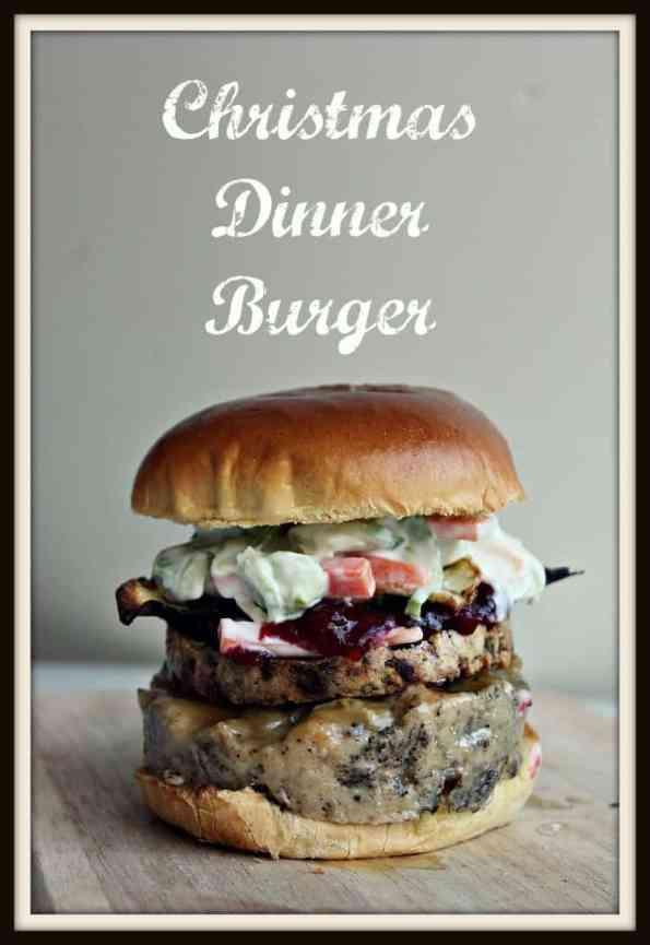 Christmas Dinner Burger