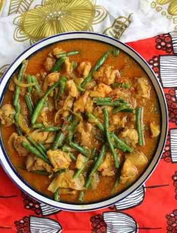 Gordon Ramsay's Malaysian Chicken, a beautiful sweet, hot and creamy curry dish
