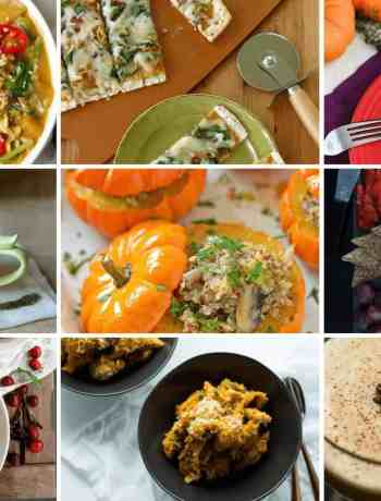 A collection of savoury pumpkin recipes from around the web