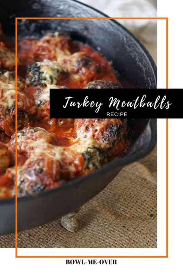 These turkey meatballs are the perfect comfort food as we head into fall and winter. Lower in calories than beef meatballs, they still pack a tonne of flavour! A great spin on an Italian classic!