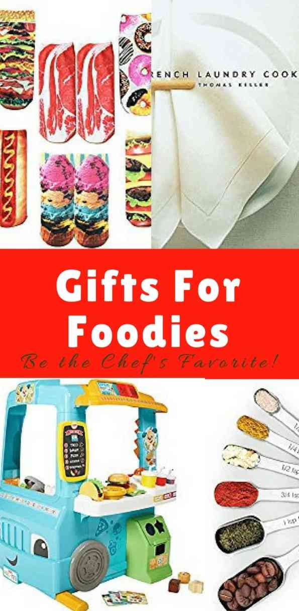Gifts For Foodies is a guide where you can find a range of kitchen gadgets, cookbooks and novelty gifts for the foodie in your life! Gift guide | Food lovers gift | Christmas gifts #giftguide #foodiegiftguide