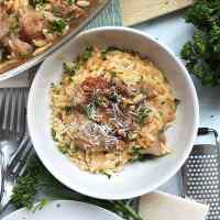 Giouvetsi (Greek Lamb Stew with Orzo)