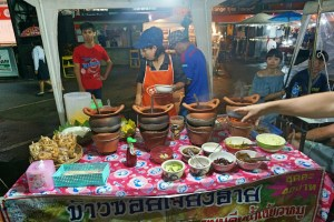 Claypot curries at Krabit Town food market
