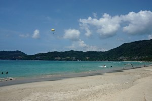 Patong beach at midday