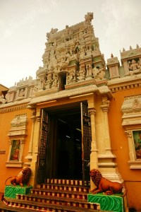 Sri Mariamman temple,  the oldest Hindu temple on Penang