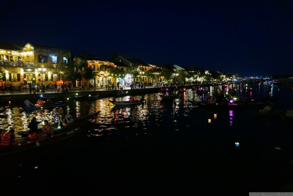 Hoi An riverside by night