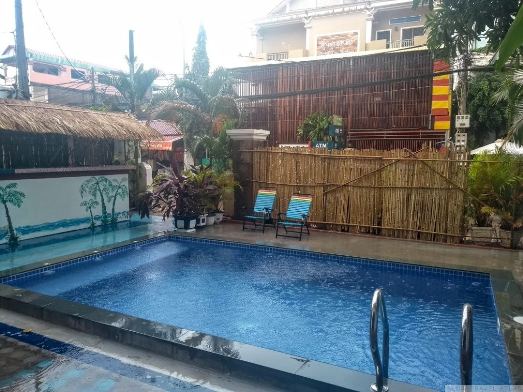 Lodestar Hostel pool