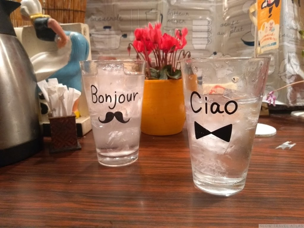 Two glasses of wate