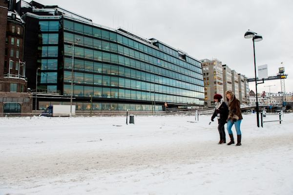 Stockholm Winter Photography by Lola Akinmade Åkerström