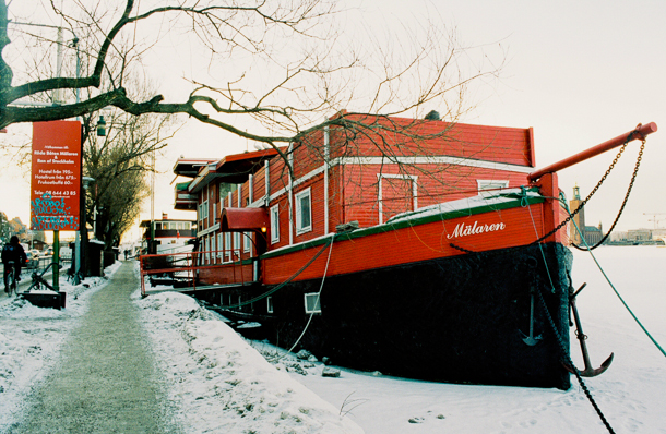 Boats in Stockholm. Photography by Lola Akinmade Akerstrom