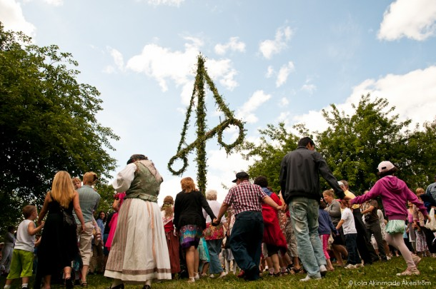 Midsummer in Stockholm, Sweden - Photography by Lola Akinmade Akerstrom