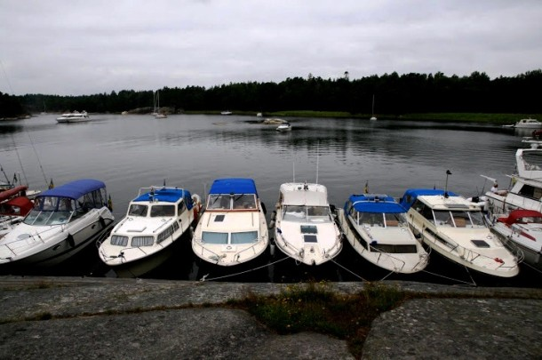 Boats at Finnhamn