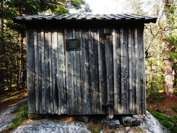 August Strindberg's cabin on Kymmendö