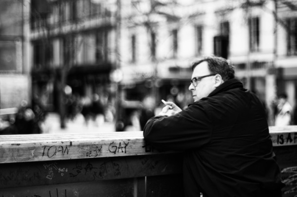Street photography in Stockholm by Matthias Siewert