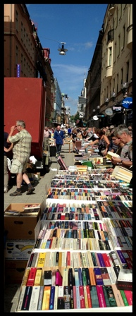 World's Longest Book Table - Photo by Danielle Blackbird