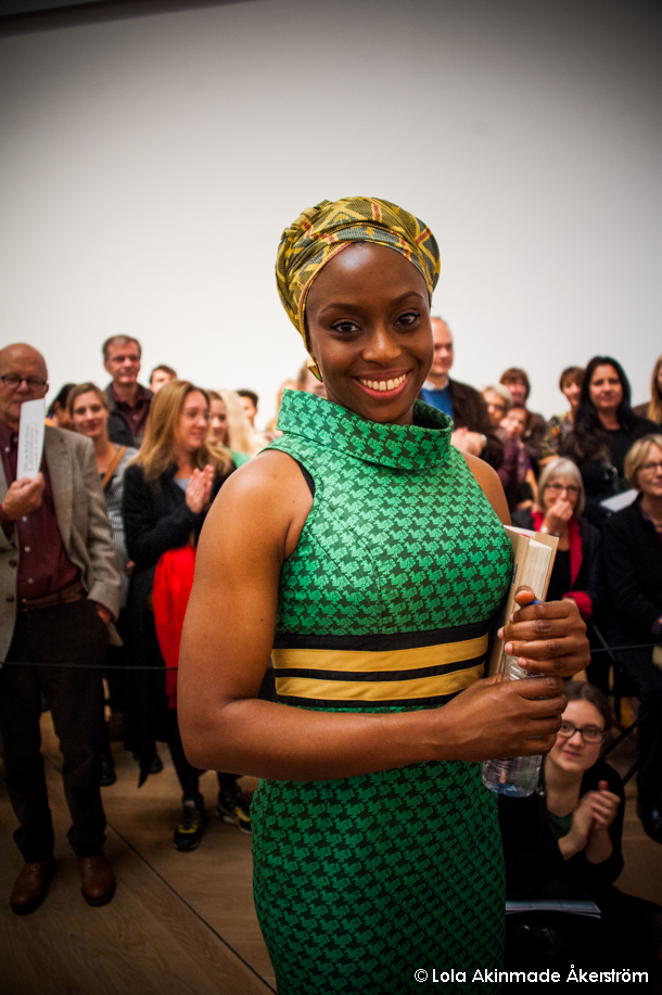 Author Chimamanda Adichie - Photography by Lola Akinmade Akerstrom