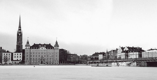 Stockholm in black and white - Photography by Lola Akinmade Akerstrom