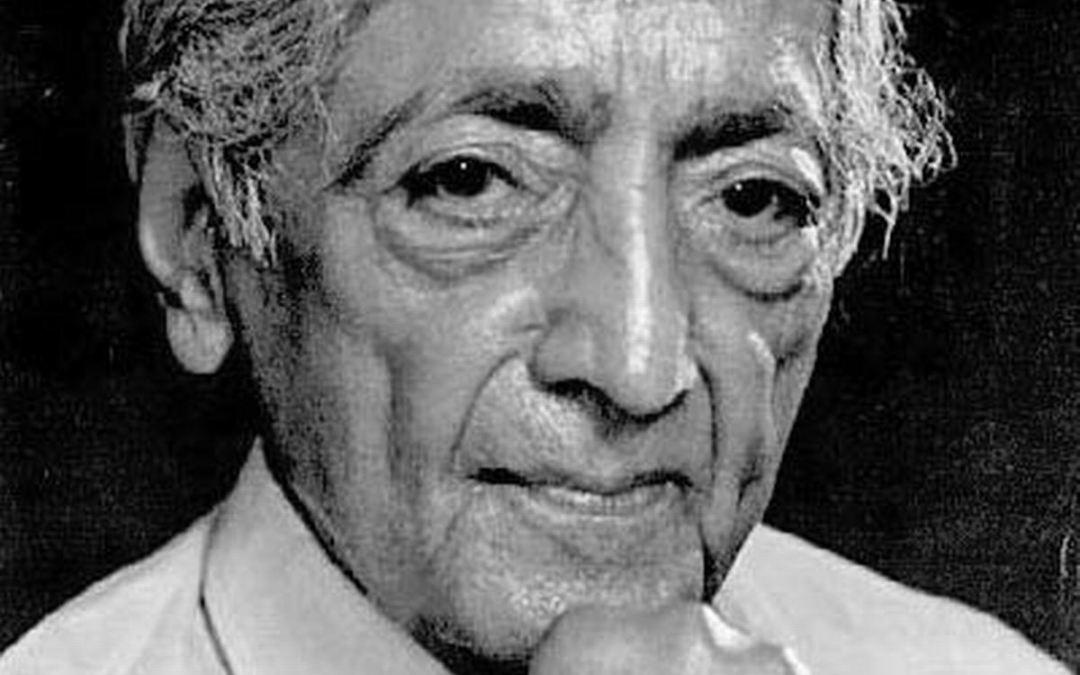 ¿Qué sucede cuando te insultan? Jiddu Krishnamurti