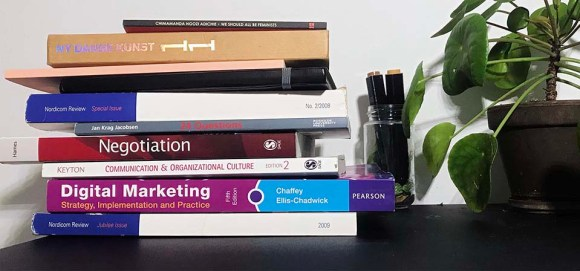 A group of books that can teach your digital marketing but also many others disciplines like communications
