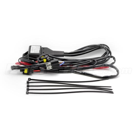 Relay Included Wiring Harness Plug And Play To Your Vehicles Bulb