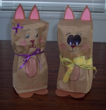 Paper_Bag_Easter_Bunny_instructions_&_Pattern_Paper bag Easter Bunnies