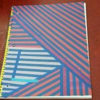 Washi Tape notebook by Lizabeth.