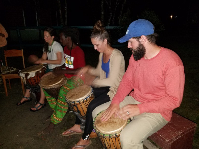 Learning to drum