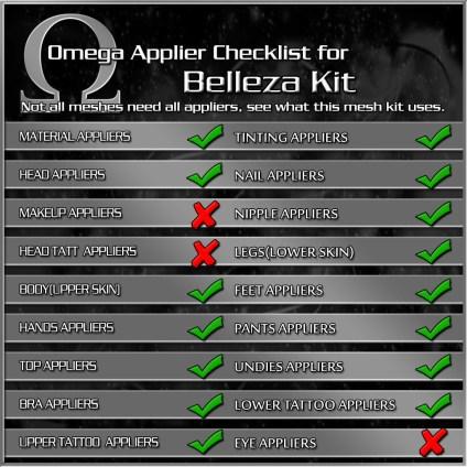 ApplierChecklist - Belleza