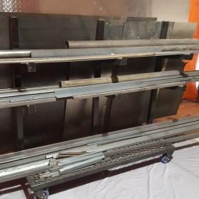 Custom Material Rack