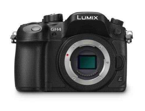 41yXUyh7N8L - Panasonic LUMIX DMC-GH4KBODY DSLM Mirrorless 4K Cinematic Camera Body Only (Black)