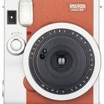 51gym1iH0WL - Fujifilm Instax Mini 90 Instant Film Camera (Brown)