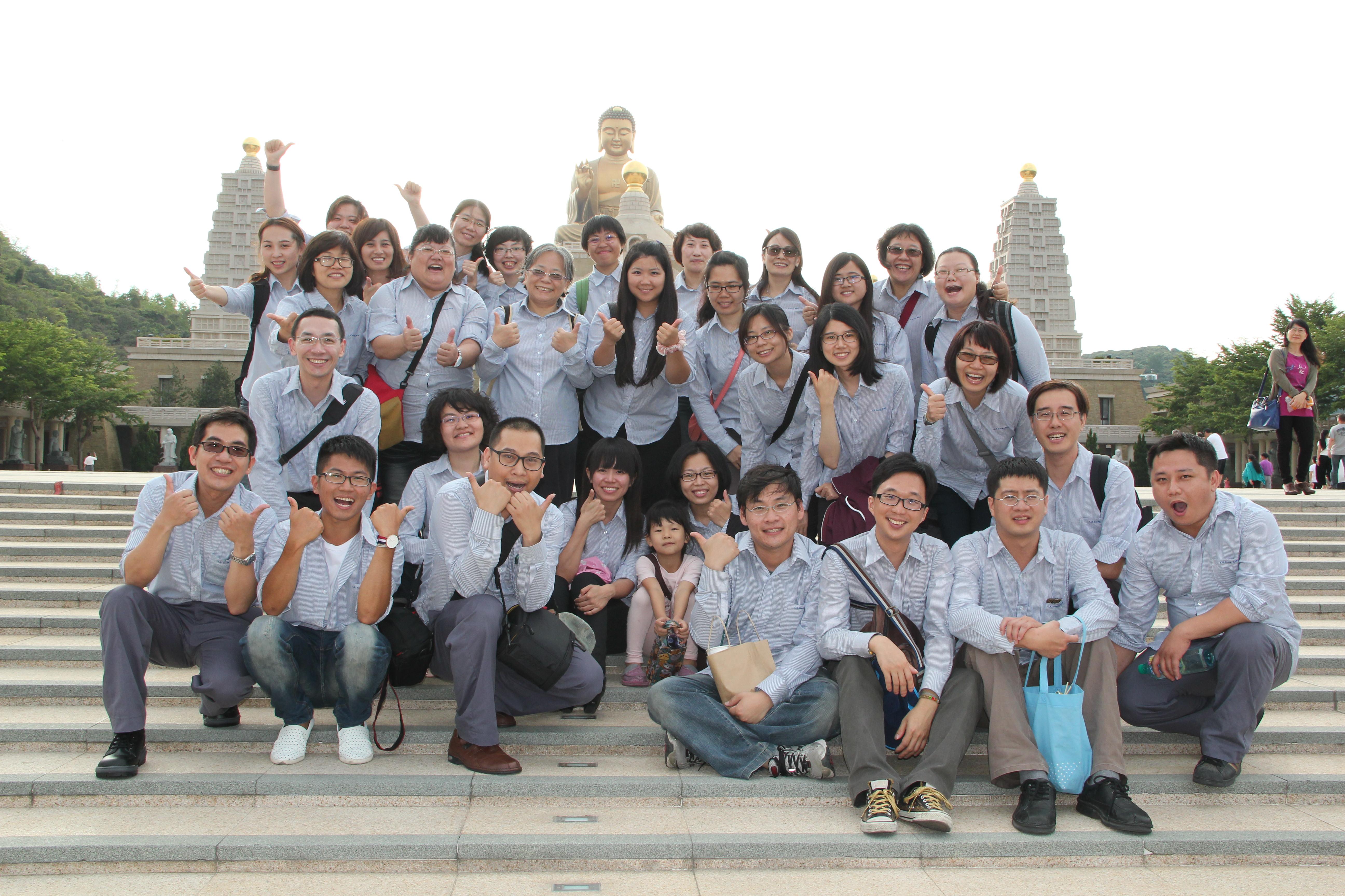 20150516佛光山天空之旅之青廣班學員護持引導組 – 南區卓越青年