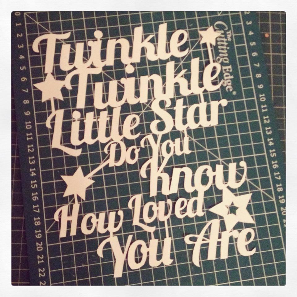 papercut, twinkle twinkle, star