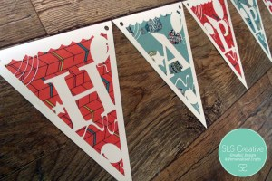 it s not a party without bunting diy paper cut bunting template