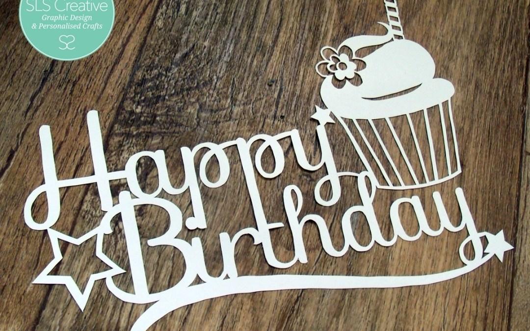 Happy Birthday SLS Creative! – Free Paper Cut Template
