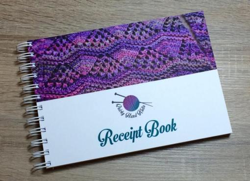Perforated Receipt Book SLS Creative