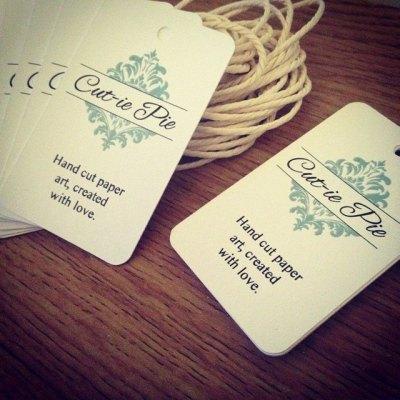 Printed Tags by SLS Creative