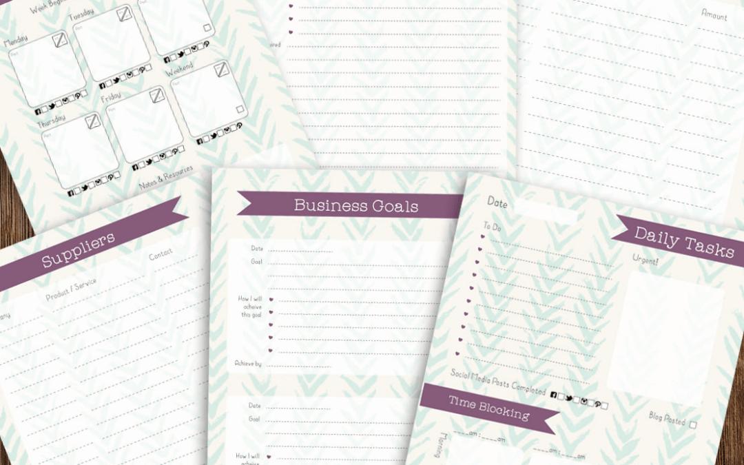 Your FREE marketing diary!