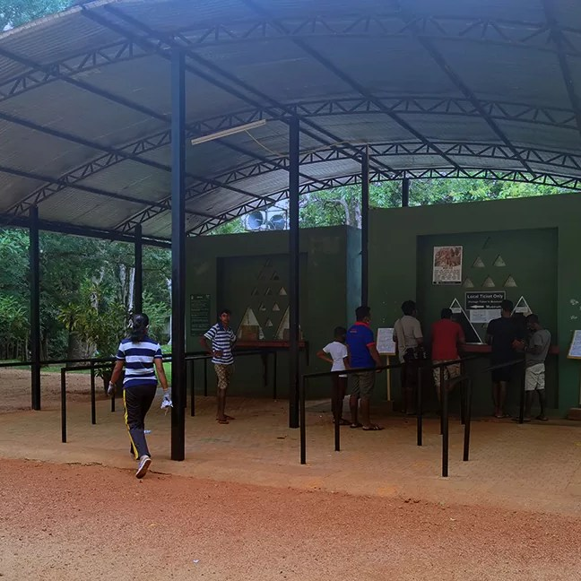 Sigiriya Ticket fee