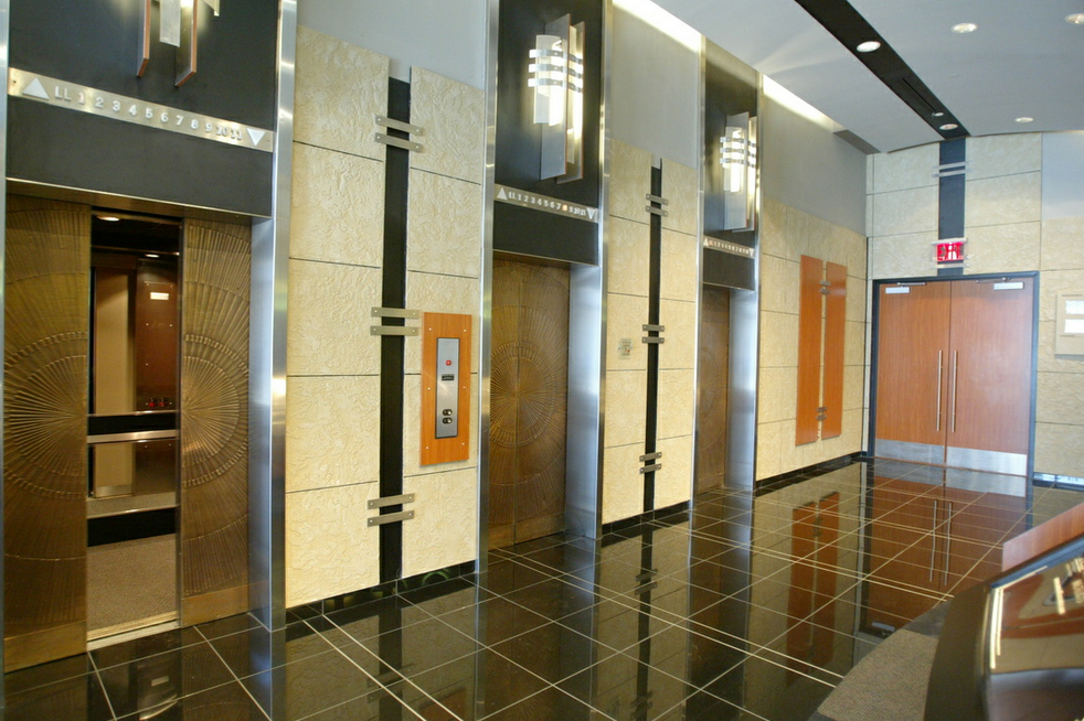 Omni Office Building  Entry Lobby