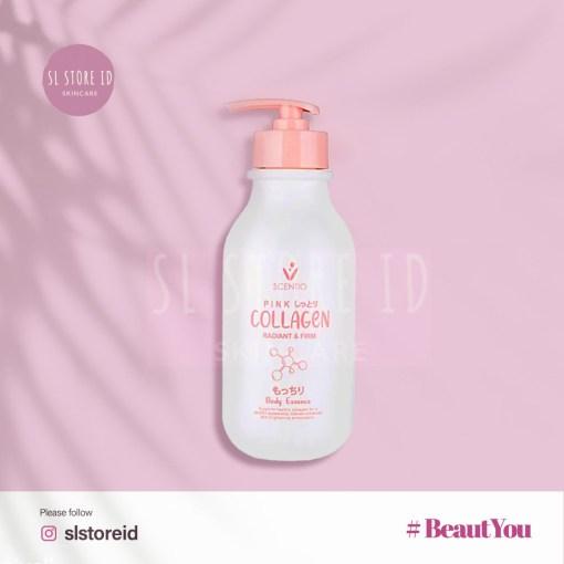 Scentio Pink Collagen Radiant & Firm Body Essence