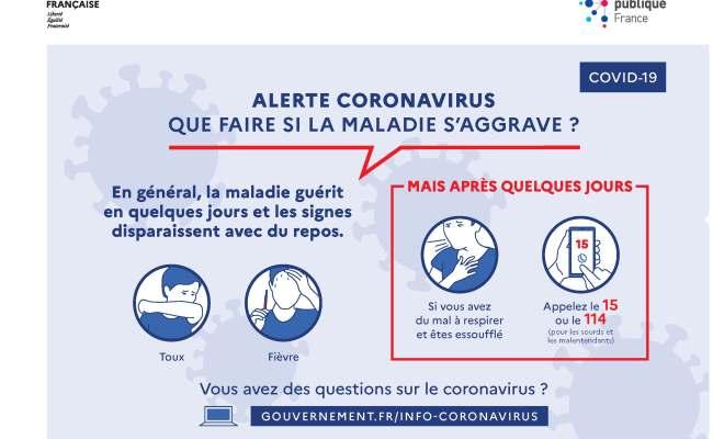 Coronavirus Conseils