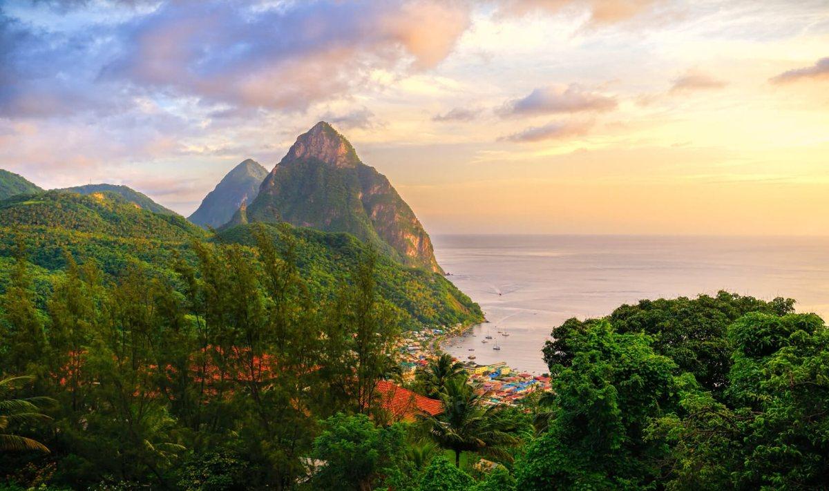 St-Lucia-Pitons-sunrise