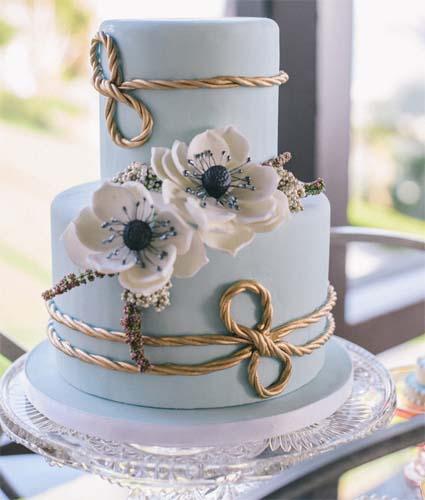 dwupoziomowy tort na wesele