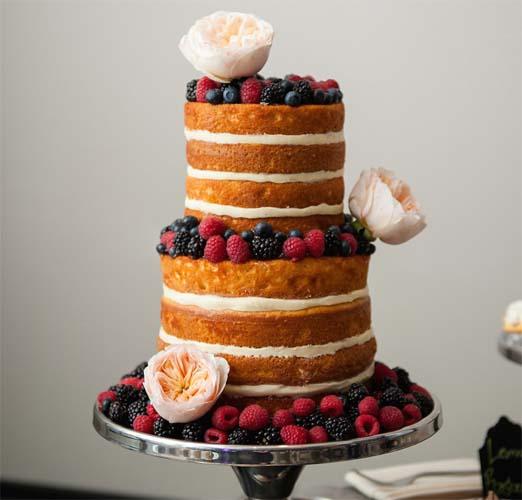 owocowy tort na wesele