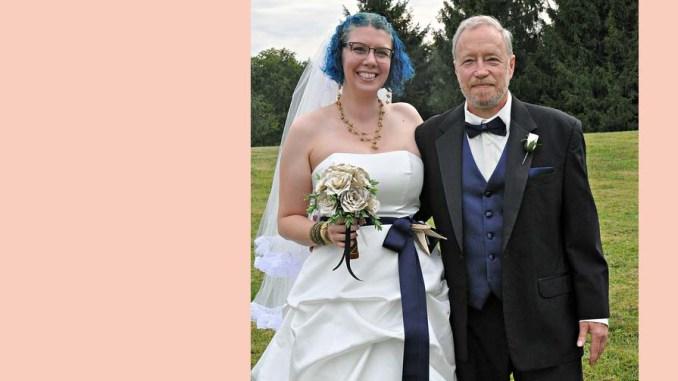 cos niebieskiego na ślub